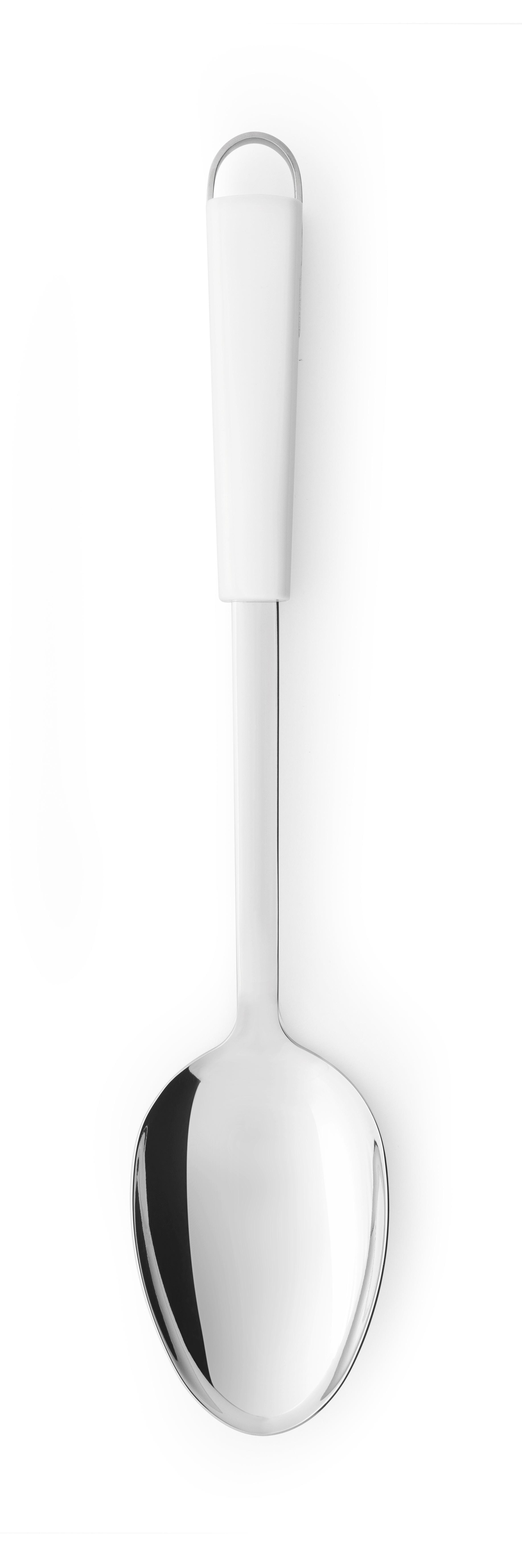 BRABANTIA Κουτάλα Λαχανικών Ανοξείδωτη με Λευκή Λαβή ESSENTIAL LINE - 080.4004/21