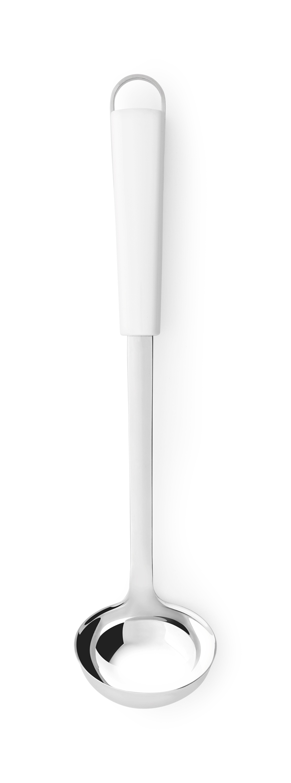 BRABANTIA Κουτάλα Σάλτσας Ανοξείδωτη με Λευκή Λαβή ESSENTIAL LINE - 080.4005/06