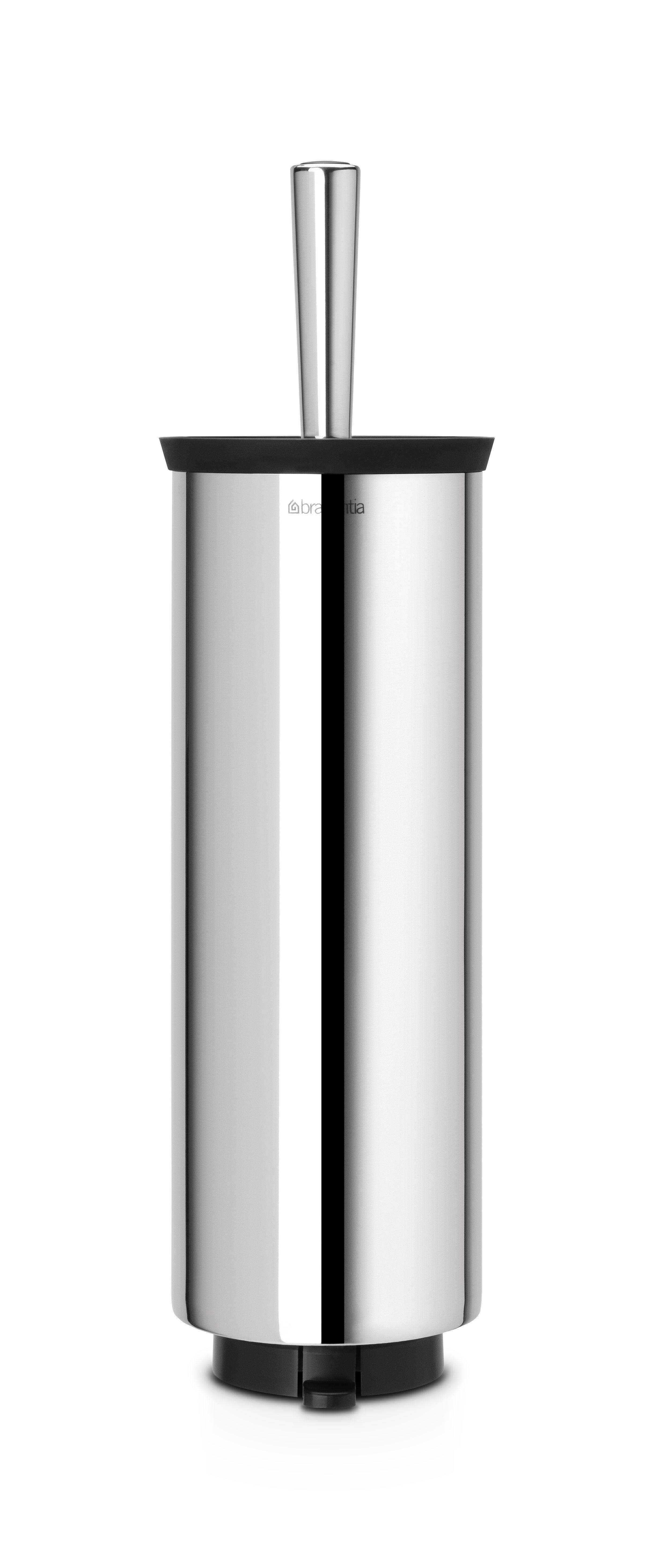 Brabantia Βάση με Πιγκάλ Τουαλέτας Κλειστό Χρωμέ Profile - 080.4271/69