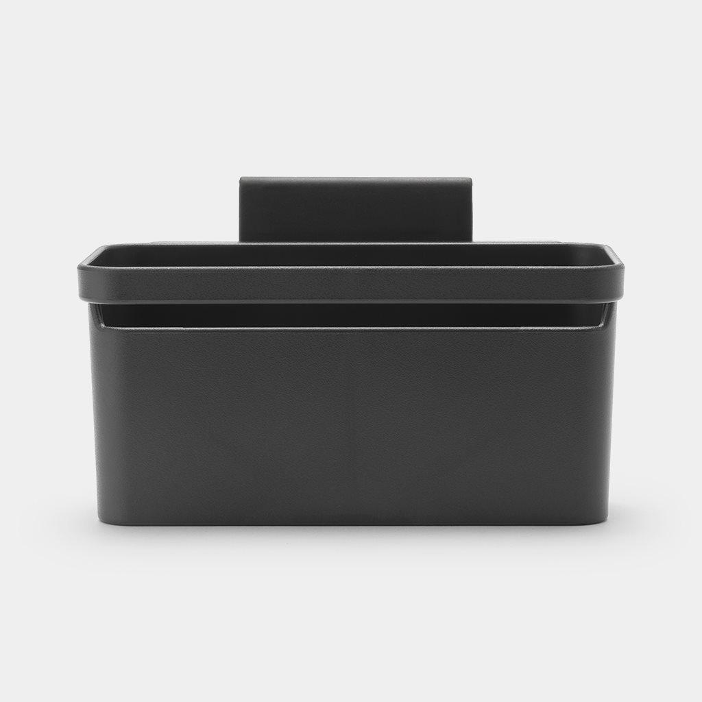 Brabantia Στεγνωτήρας Νεροχύτη για Μαχαιροπίρουνα Σκούρο Γκρι 17,1Χ12,8Χ10,5cm