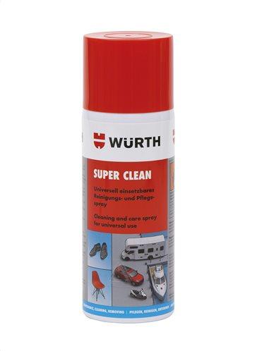 Würth Super Clean Σπρέι Καθαρισμού Και Περιποίησης Γενικής Χρήσης 400ml