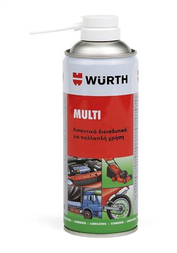 Würth Λιπαντικό σπρέι πολλαπλών λειτουργιών Multi 5-σε-1 400ml