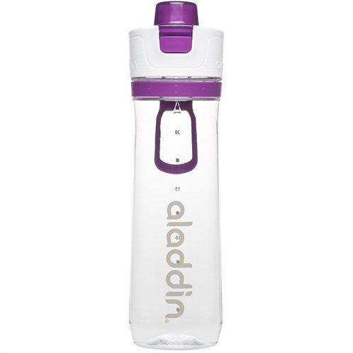 Aladdin Παγούρι 0.8lt Μοβ-Διάφανο Active Hydration Tracker