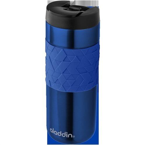 Aladdin Κούπα Θερμομονωτική Ανοξείδωτη Μπλε Easy Grip Leak Lock  0.47lt