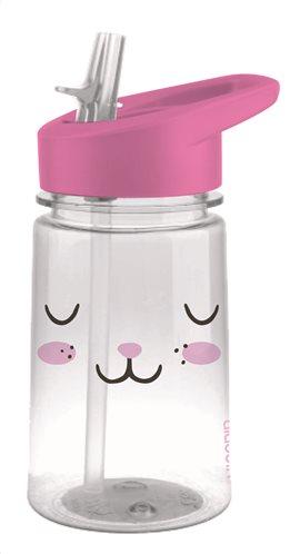 Aladdin Πλαστικό Παγούρι με Καλαμάκι Flip & Sip Λαγουδάκι 0.35lt 10-08541-001 BPA Free
