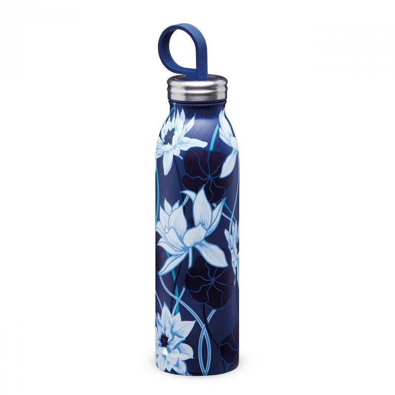Aladdin Ανοξείδωτο Θερμομονωτικό Μπουκάλι Chilled Thermavac Μπλε Λωτός 0.55lt