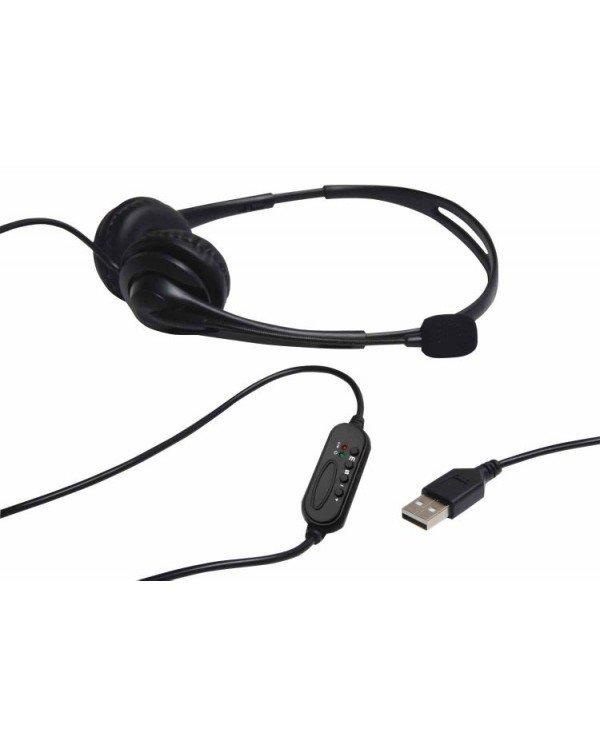 AvLink 100.058UK USB Ακουστικά με Μικρόφωνο