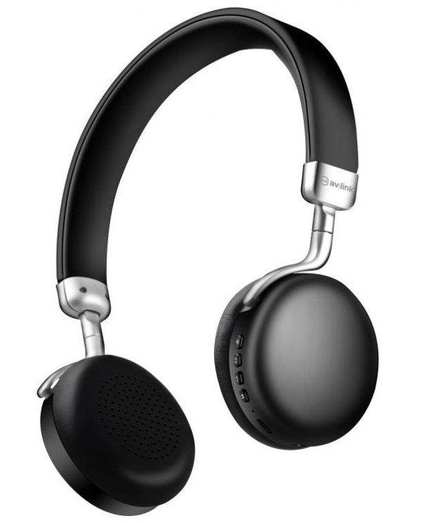 AvLink NEO-BLK Metallic Black On-Ear Ακουστικά Bluetooth