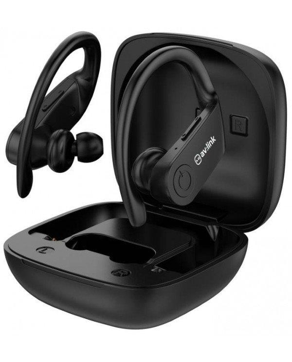 Avlink 100.579UK Ear Shots Active Αδιάβροχα Ασύρματα Ακουστικά Bluetooth & Θήκη Φόρτισης