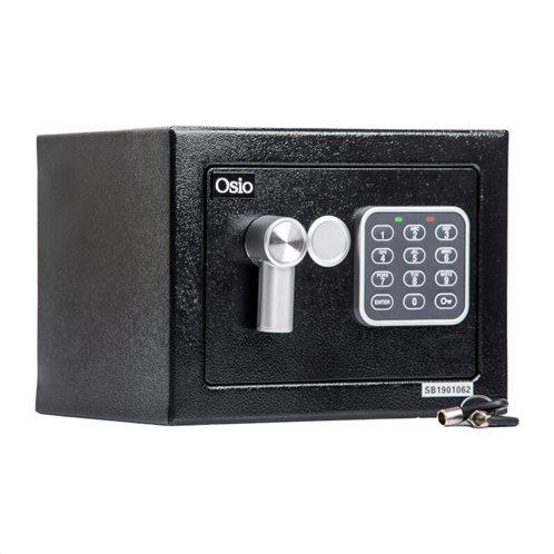Osio OSB-1723BL Χρηματοκιβώτιο με ηλεκτρονική κλειδαριά 23 x 17 x 17 cm