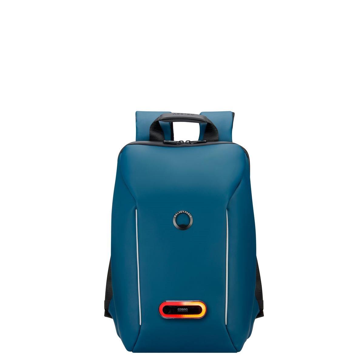 Delsey Σακίδιο πλάτης με θέση PC 14   44,5x29,5x16,5cm Securain Connected Blue