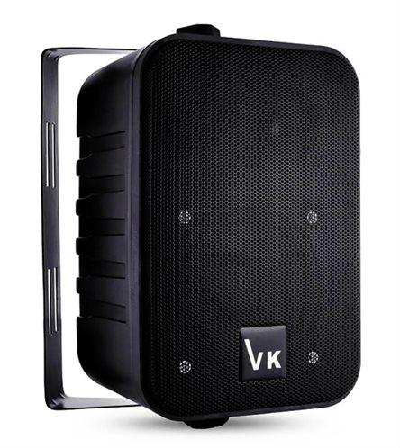 "VOICE KRAFT Ηχείο 1050-BL 4"" 2 δρόμων bass reflex 110W μαύρο"