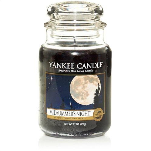 Yankee Candle Αρωματικό Κερί σε Γυάλινο Δοχείο Large σειρά Midsummers Night