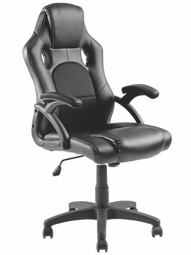Brateck Καρέκλα Γραφείου Ρυθμιζόμενη Με Υποβραχιόνια Μαύρη