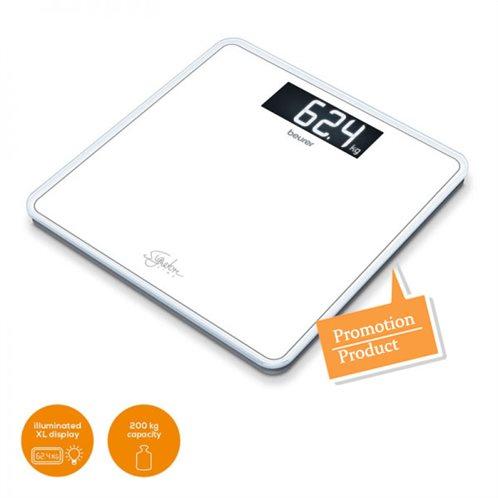 Beurer Ψηφιακή Ζυγαριά GS 400 Signature Line Λευκή 200kg