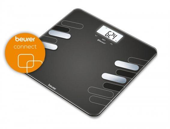 Beurer Ψηφιακή Ζυγαριά με Λιπομετρητή BF 600 Γκρι 180kg