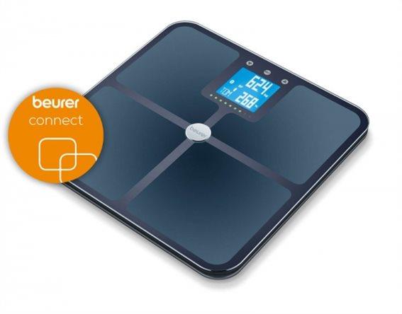 Beurer Ψηφιακή Ζυγαριά με Bluetooth BF 950 Μαύρη 180kg