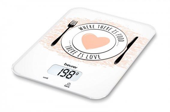 Beurer Ψηφιακή Ζυγαριά Κουζίνας 5kg KS 19 Love