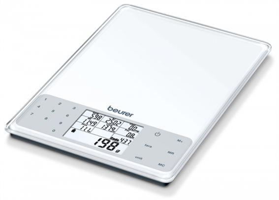 Beurer Ψηφιακή Ζυγαριά Κουζίνας 5kg με Διατροφική Ανάλυση DS 61