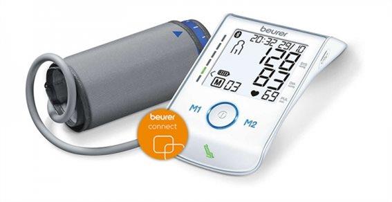 Beurer Ψηφιακό Πιεσόμετρο Μπράτσου Bluetooth BM 85 160 Μνήμες 22-36cm