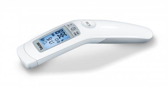 Beurer Ψηφιακό Θερμόμετρο Μετώπου με Υπέρυθρες FT90 Μπαταρίας Κατάλληλο για Μωρά