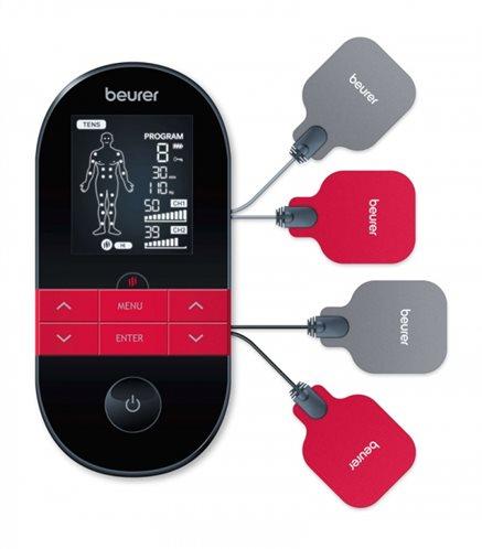 Beurer Φορητή Ψηφιακή Συσκευή Παθητικής Γυμναστικής EMS, TENS για όλο το Σώμα EM 59 Με Λειτουργία Θερμότητας