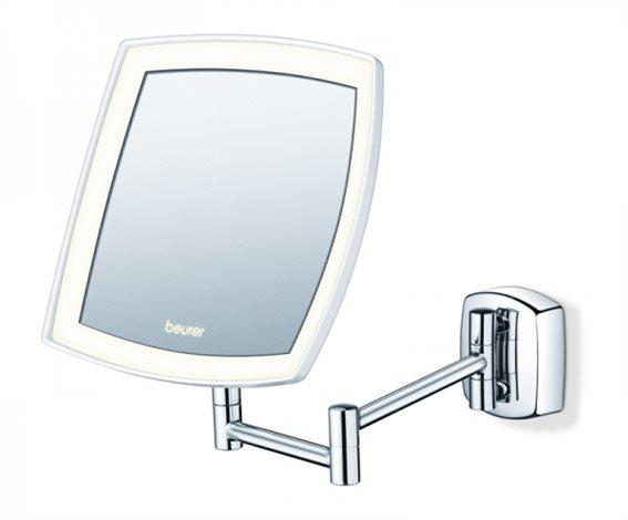 Beurer Φωτιζόμενος Καθρέπτης Μπάνιου LED Μπαταρίας Ορθογώνιος 23.7x36.4cm BS 89