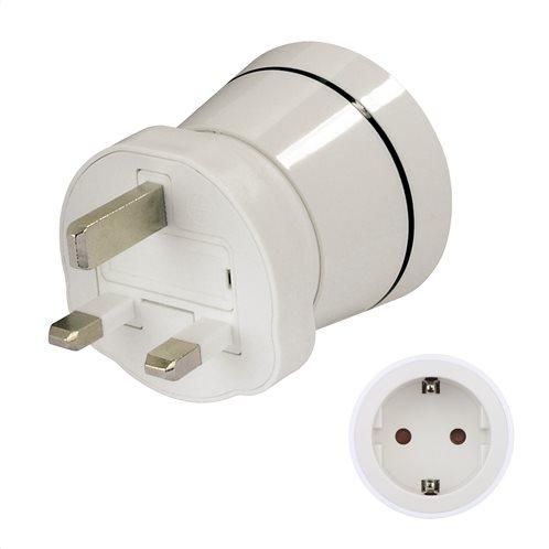Hama Travel Adapter Plug,GR to UK