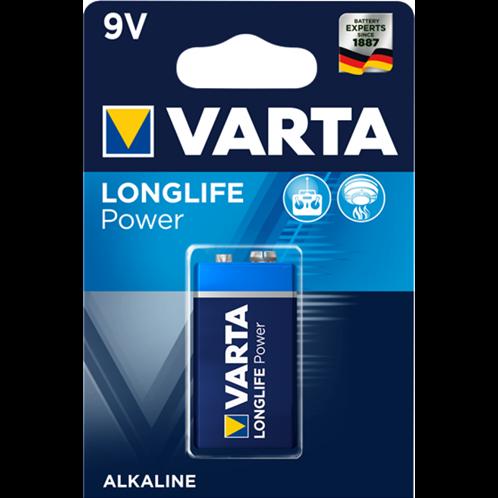 VARTA LONGLIFE POWER 9V BLISTERx1pc