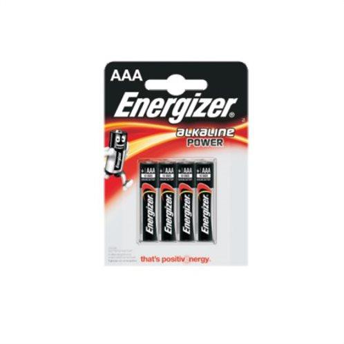 Energizer Αλκαλικές Μπαταρίες AAA 1.5V Power 4τμχ