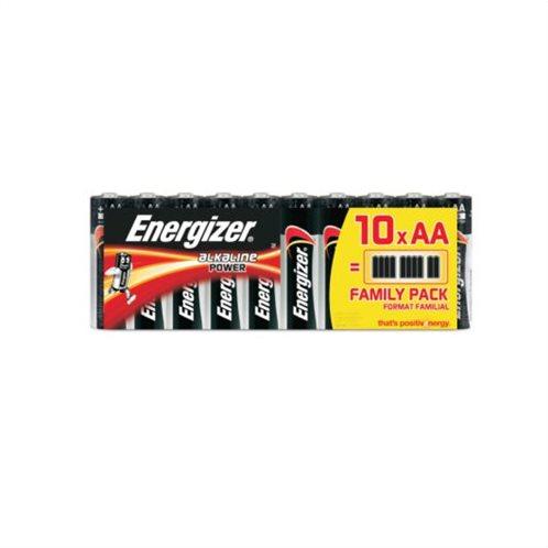 Energizer Αλκαλικές Μπαταρίες AA 1.5V Power 10τμχ