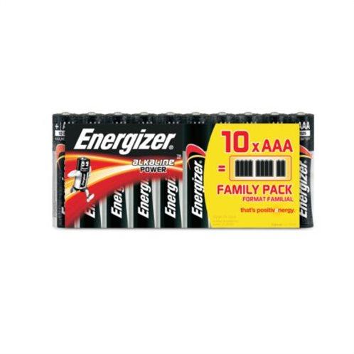 Energizer Αλκαλικές Μπαταρίες AAA 1.5V Power 10τμχ