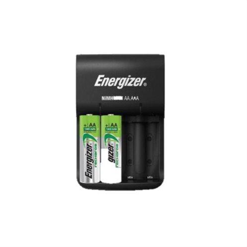 Energizer Φορτιστής 4 Μπαταριών Ni-MH Μεγέθους AA/AAA ACCU Recharge Base Σετ με 4x AA 1300mAh