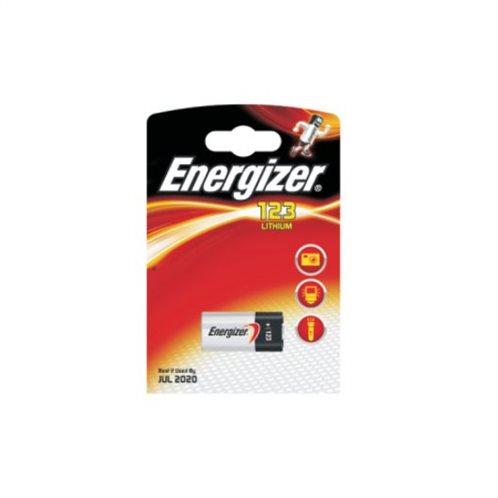 Energizer Μπαταρία Λιθίου CR123 3V 123 1τμχ