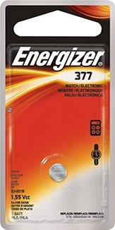 Energizer Μπαταρία Ρολογιών SR66 1.55V Silver Oxide 377 1τμχ