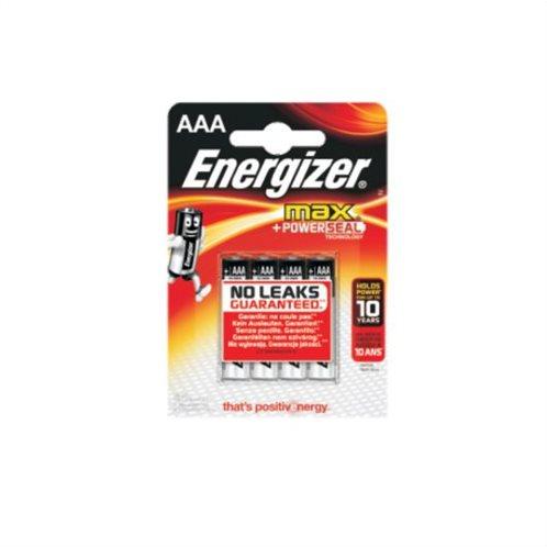 Energizer Αλκαλικές Μπαταρίες AAA 1.5V Max 4τμχ