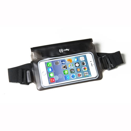 Celly Splashbelt Waterproof Belt Case Up To 5.7 Smartphone Black