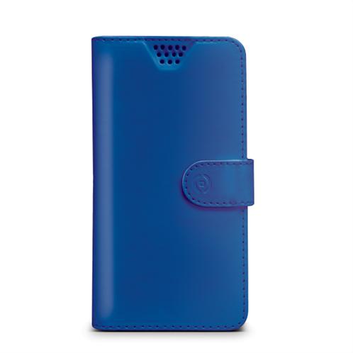 Celly Case Wally Unica Univ Book Blue XXXL