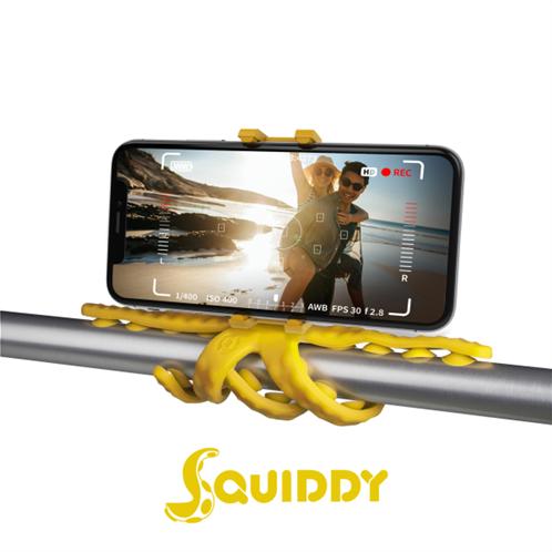 Celly Squiddy Flexible Mini Tripod Yellow