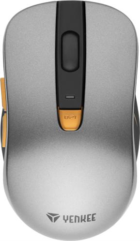 Yenkee Wireless Mouse Havana Silver YMS 2025SR