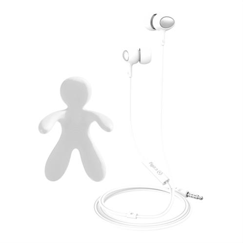 Celly Car Freshner Bundle & Stereo Earphones White