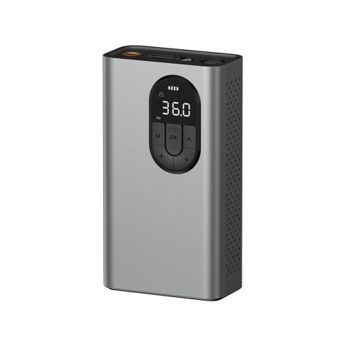 Baseus Energy Source Inflator Pump Silver
