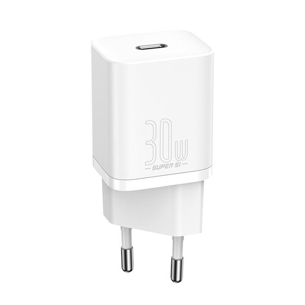 Baseus Super Si Quick Charger 1C 30W White