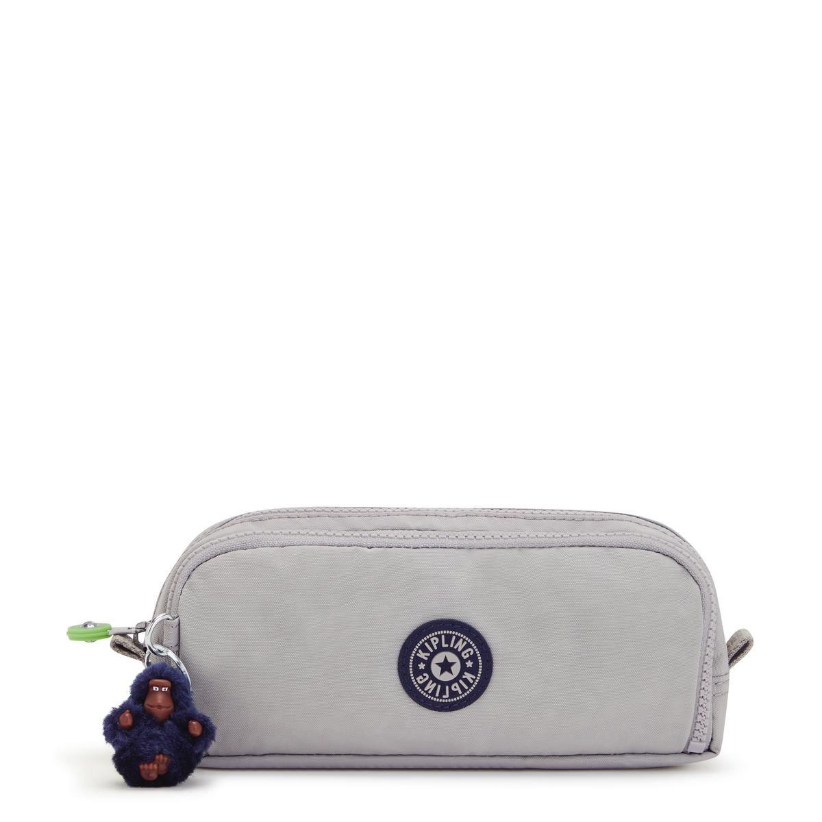 Kipling κασετίνα 10x23x7 cm Gitrou Playful Grey