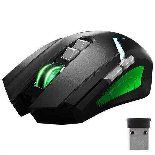 NOD Dual mode gaming ποντίκι με μαύρη rubber επιφάνεια GW-MSE-4G