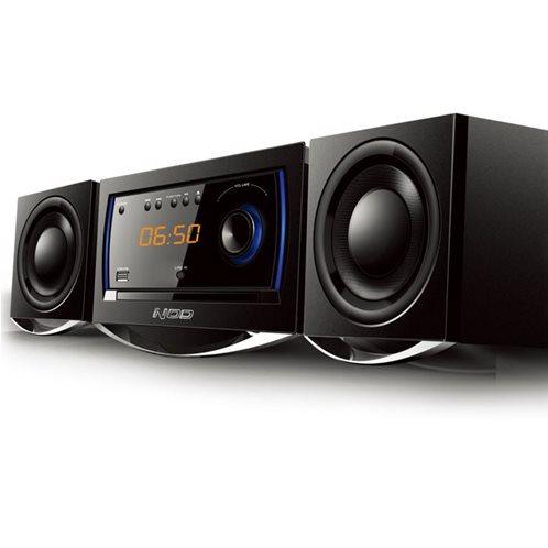 NOD Mini Hi-Fi με CD player - FM ράδιο & σύνδεση Bluetooth MHS-001BL