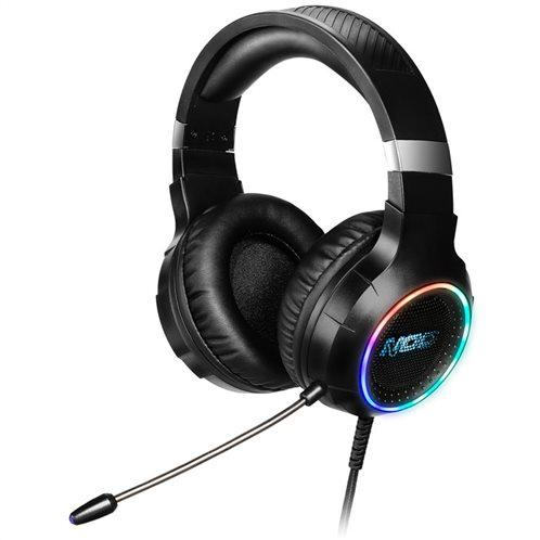 NOD USB Gaming Headset με RGB LED φωτισμό, δόνηση και χειριστήριο, NOD DEPLOY