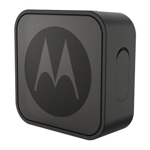 Motorola SONIC BOOST 220 Black Αδιάβροχο Smart φορητό ηχείο Bluetooth με Aux-In - 3 W