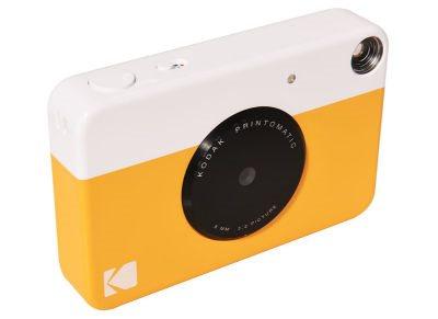 Kodak instant print camera - yellow