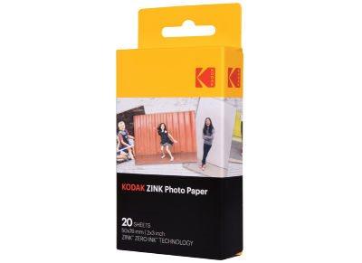 "Kodak ZINK Χαρτί Φωτογραφικό 2""x3"" 20 φύλλα"